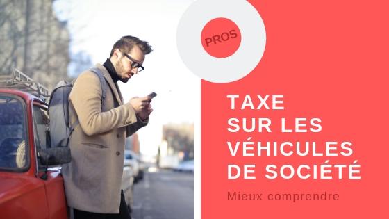 taxe sur les véhicules de société