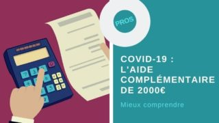 Aide complémentaire de 2000€