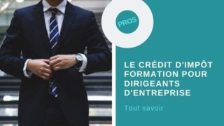 Credit impot formation dirigeant