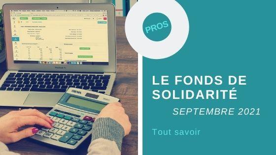 fonds de solidarité septembre 2021